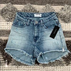 One Teaspoon High Waist Bonita Jean Shorts Size 25